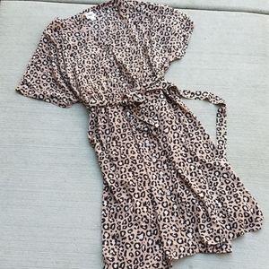 Ava & Viv Cheetah Print Dress size 4X